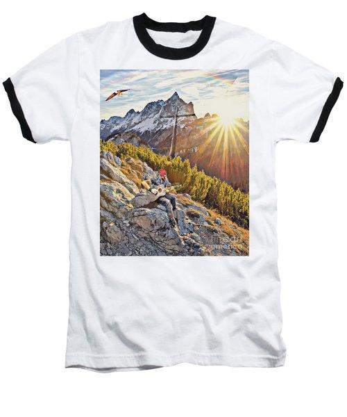Mountain Of The Lord Baseball T-Shirt