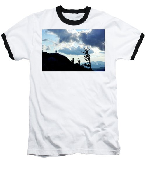 Mountain Peak Baseball T-Shirt