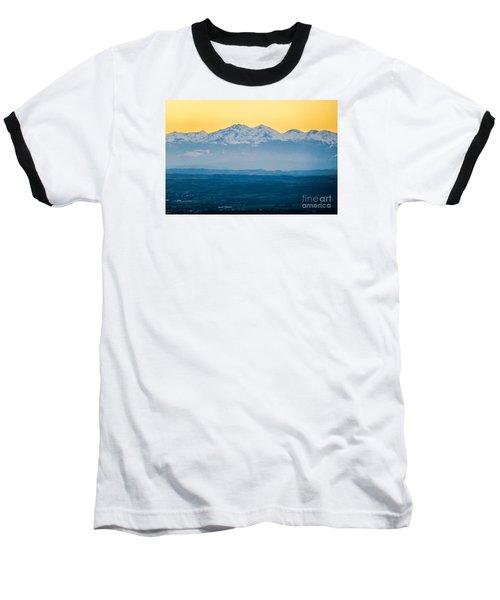Mountain Scenery 7 Baseball T-Shirt