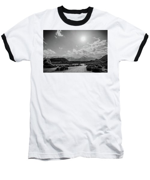 Baseball T-Shirt featuring the photograph Mountain Solitude by Margaret Pitcher