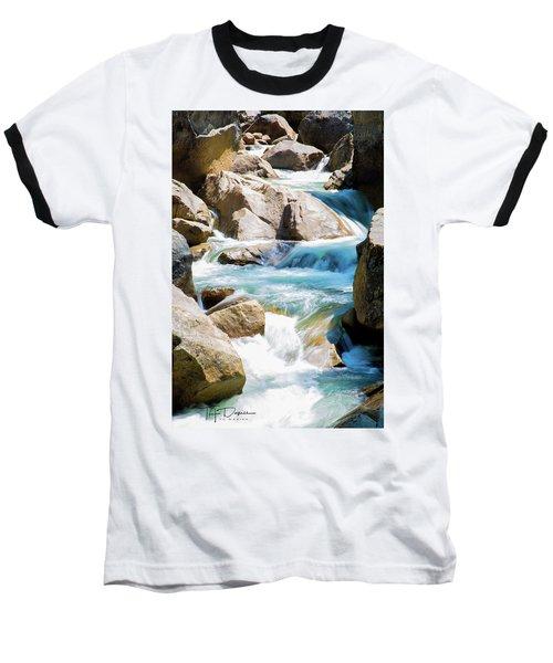 Mountain Spring Water Baseball T-Shirt