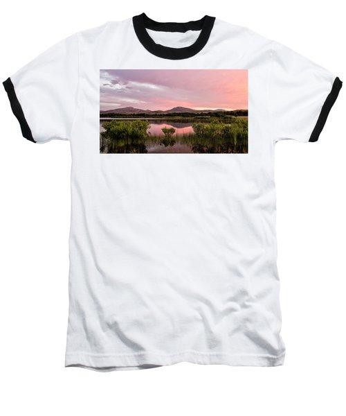 Mountain Sunrise Baseball T-Shirt