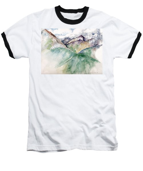Mountain View Colorado Baseball T-Shirt by Catherine Twomey