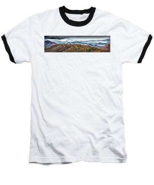Baseball T-Shirt featuring the photograph Mountains 2 by Walt Foegelle