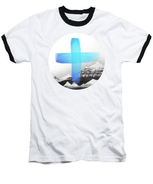 Mountains Baseball T-Shirt by Amy Hamilton