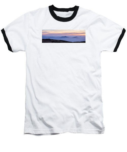 Mountains And Mist Baseball T-Shirt