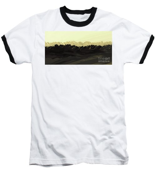 Mountains Of The Mohave Baseball T-Shirt