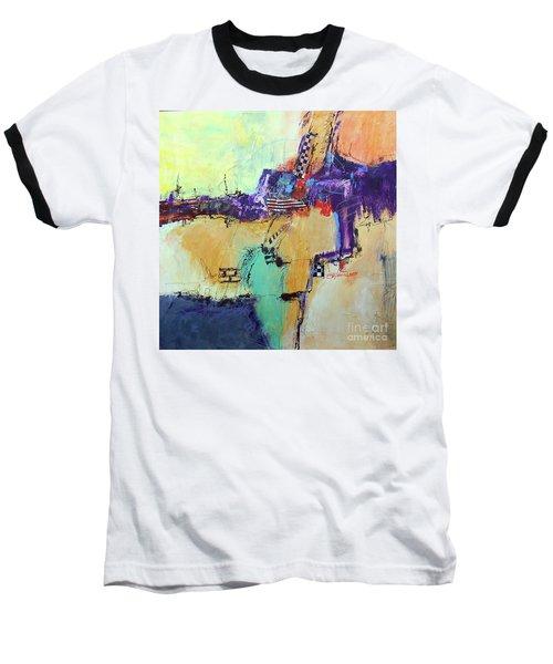 Movin' Left Baseball T-Shirt by Ron Stephens
