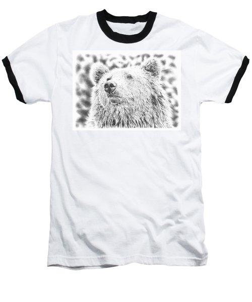 Mr. Bear Baseball T-Shirt