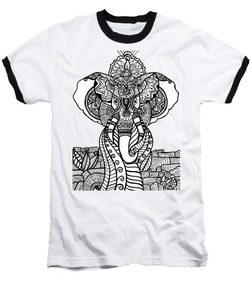 Mr. Elephante Baseball T-Shirt