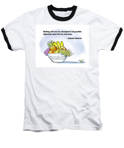 Mr. Grape And Dr. Johnson Baseball T-Shirt