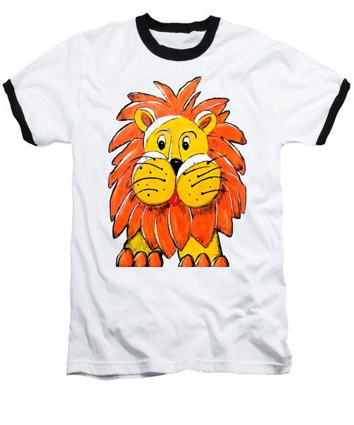 Mr. Lion Baseball T-Shirt by Tami Dalton