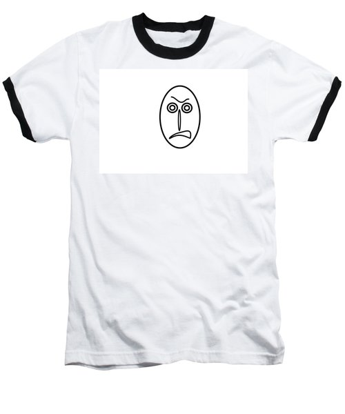 Mr Mf Is Very Angry Baseball T-Shirt