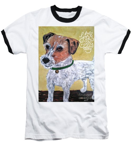 Mr. R. Terrier Baseball T-Shirt