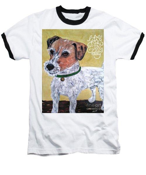 Mr. R. Terrier Baseball T-Shirt