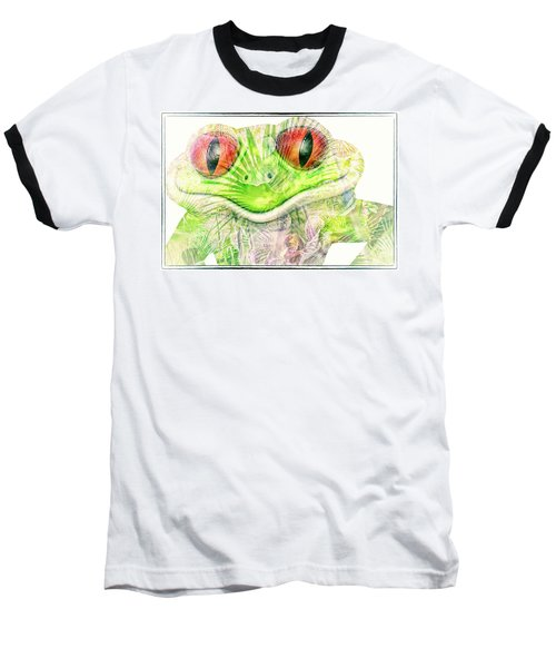 Mr Ribbit Baseball T-Shirt