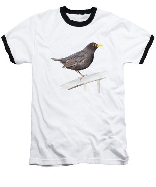 Ms. Blackbird Is Brown Baseball T-Shirt