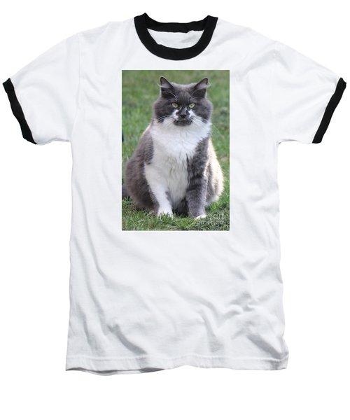 Ms. Mustache Baseball T-Shirt