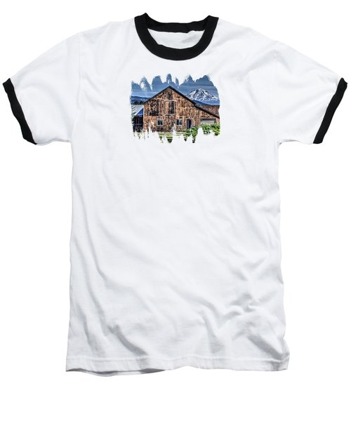 Baseball T-Shirt featuring the photograph Mt. Adams by Thom Zehrfeld
