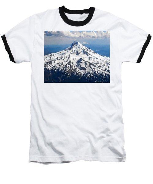 Mt. Hood From 10,000 Feet Baseball T-Shirt
