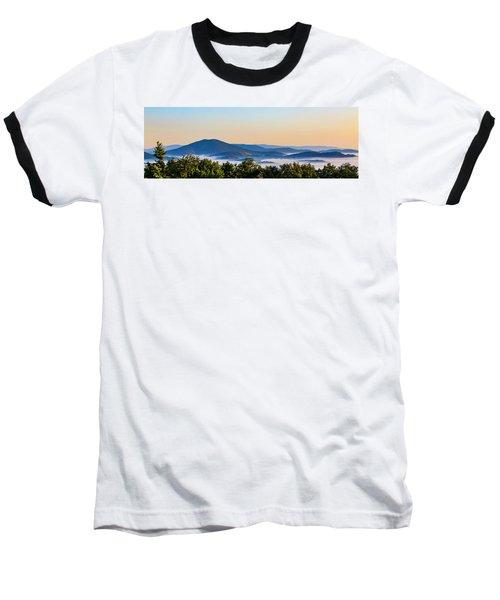 Mt. Jefferson Cloud Lake Baseball T-Shirt by Dale R Carlson