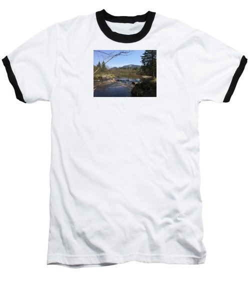 Baseball T-Shirt featuring the photograph Mt. Katahdin by Robin Regan