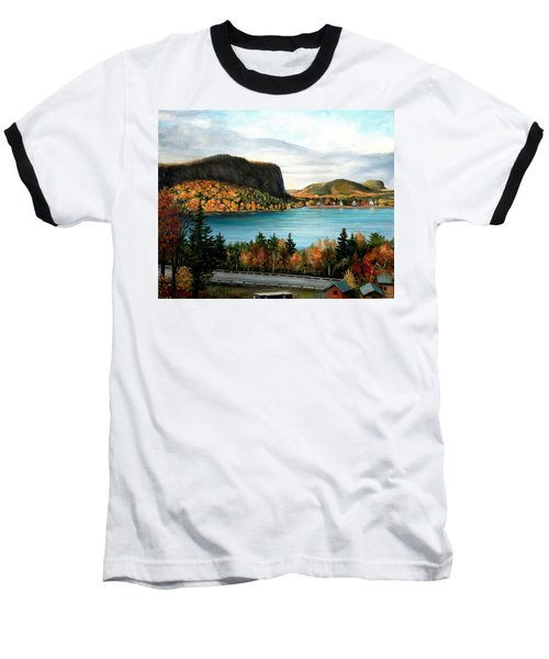 Mt. Kineo, Rockwood, Maine Baseball T-Shirt