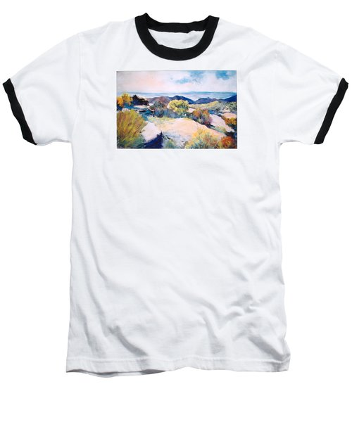 Baseball T-Shirt featuring the painting Mt Lemmon View by M Diane Bonaparte