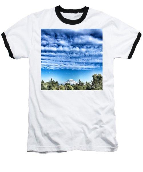 Mt Rainier Baseball T-Shirt