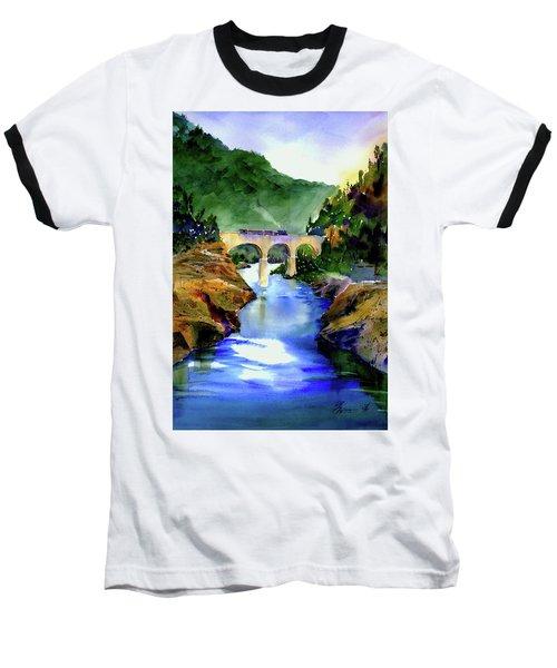 Mtn Quarries Rr Bridge Baseball T-Shirt