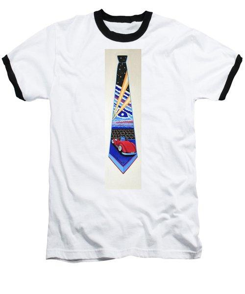 Mulholland Drive Baseball T-Shirt by Tracy Dennison