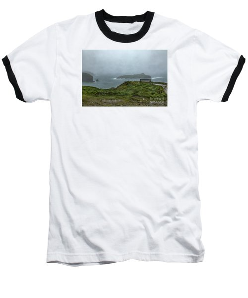 Baseball T-Shirt featuring the photograph Mullion Cove by Brian Roscorla