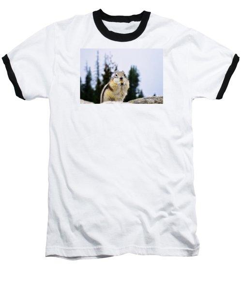 Baseball T-Shirt featuring the photograph Munching by Janie Johnson