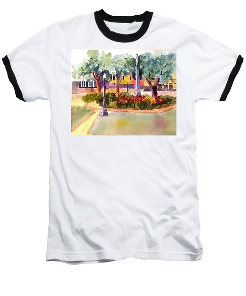 Munn Park, Lakeland, Fl Baseball T-Shirt by Larry Hamilton