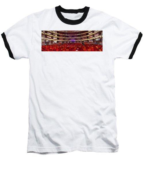 Baseball T-Shirt featuring the photograph Murrel Kauffman Theater by Jim Mathis
