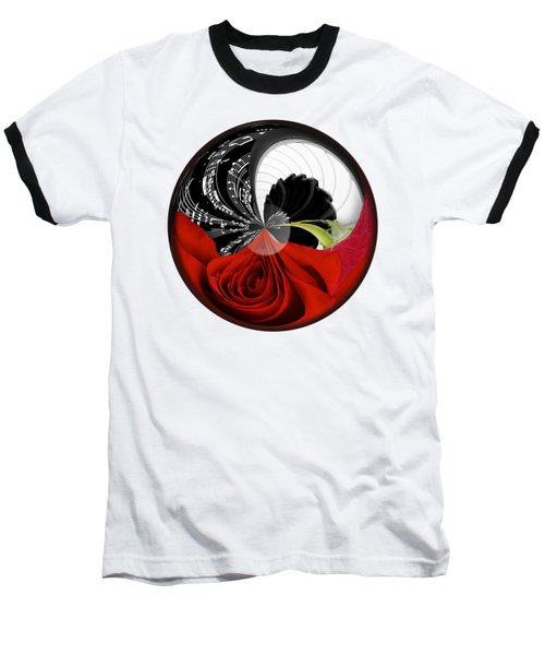 Baseball T-Shirt featuring the photograph Music Orbit by Phyllis Denton