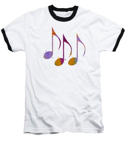 Musical Notes Baseball T-Shirt