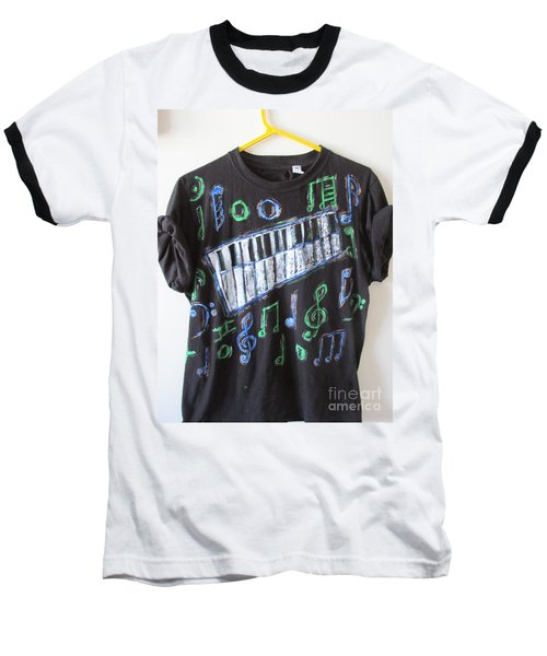 Musician Tee Shirt - Sierra Leone Baseball T-Shirt by Mudiama Kammoh