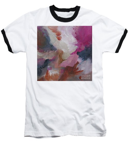 Baseball T-Shirt featuring the painting Musing124 by Elis Cooke