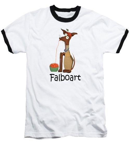 My Applehead Chiwawa Baseball T-Shirt by Anthony Falbo