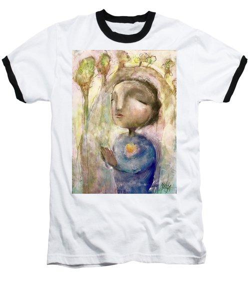 My Faith Baseball T-Shirt by Eleatta Diver
