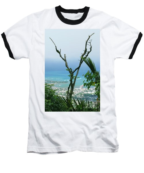 My Favorite Wishbone Between A Mountain And The Beach Baseball T-Shirt