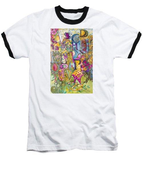 My Garden Baseball T-Shirt by Claudia Cole Meek