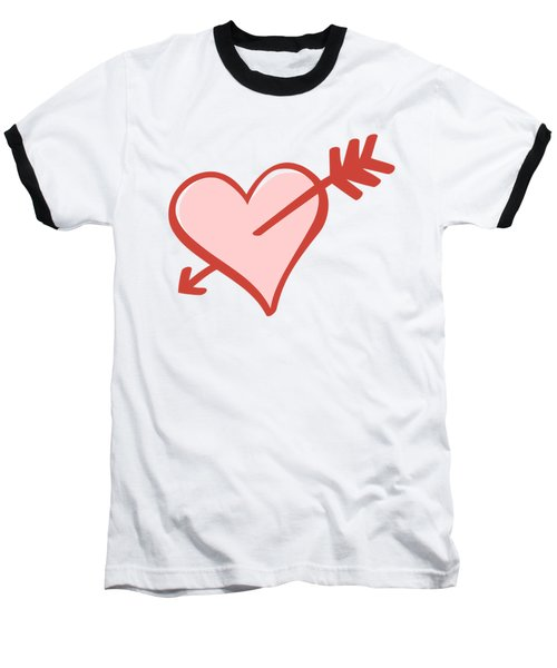 My Heart Baseball T-Shirt