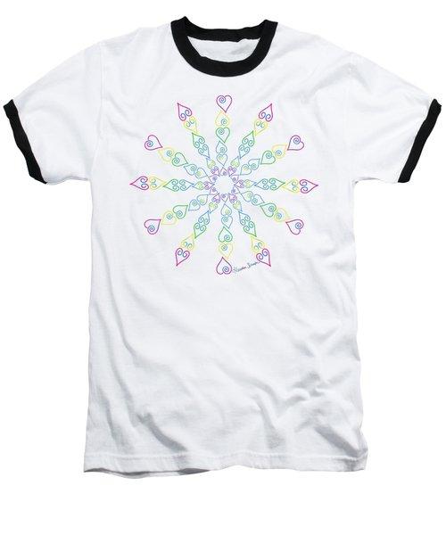 My Heart Flip Flops Baseball T-Shirt