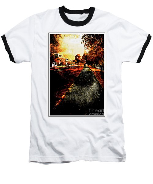 My Neighborhood Baseball T-Shirt by Al Bourassa