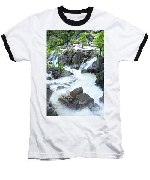 Mysterious Falls In Yosemite Baseball T-Shirt