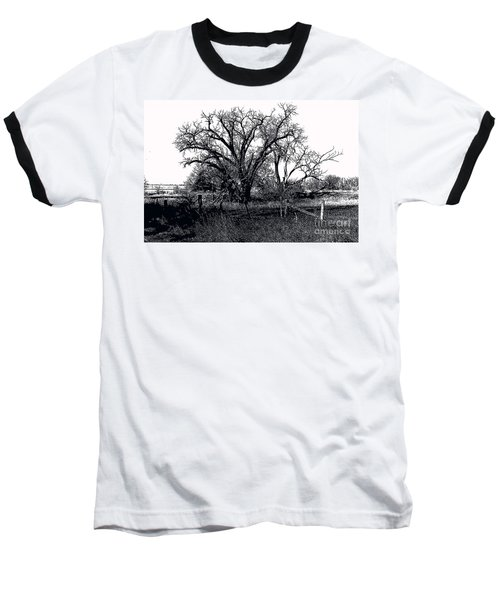 Naked Beauty Black And White Baseball T-Shirt