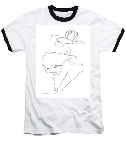 Naked-female-art-21 Baseball T-Shirt