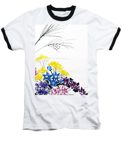 Nanakusa/ Autumn Seven Sisters Baseball T-Shirt